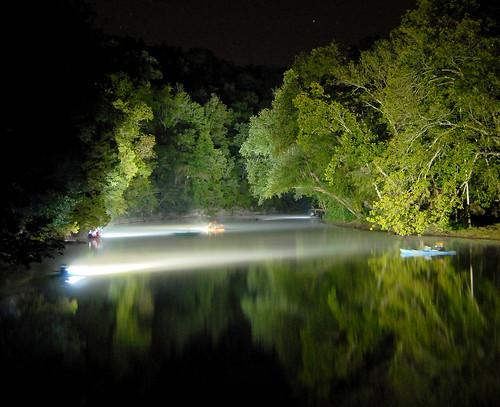 light water night creek river kayak tennessee vanburen spencer