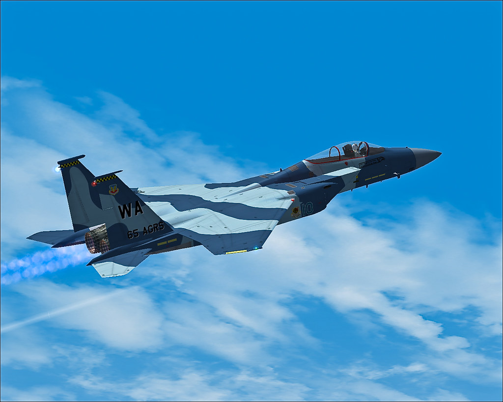 IRIS Freeware F-15 for FSX | Thanks a lot to Josh Lavoie for