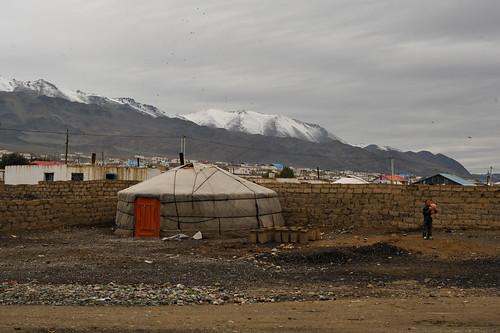 Ger in Ölgii, Mongolia | by goingslowly