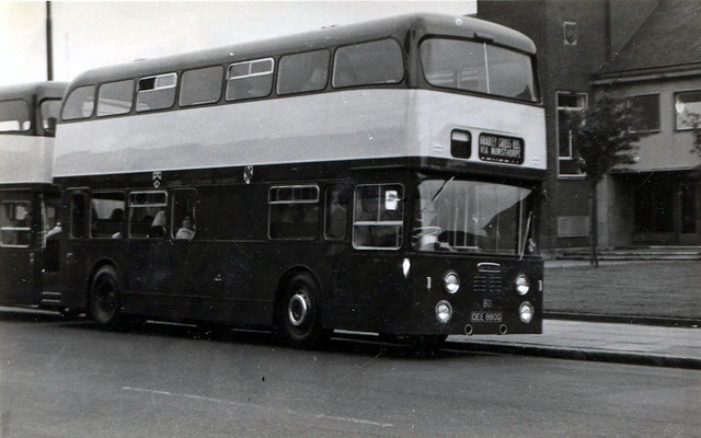 80, OEE 880G, Daimler Fleetline, Roe Body