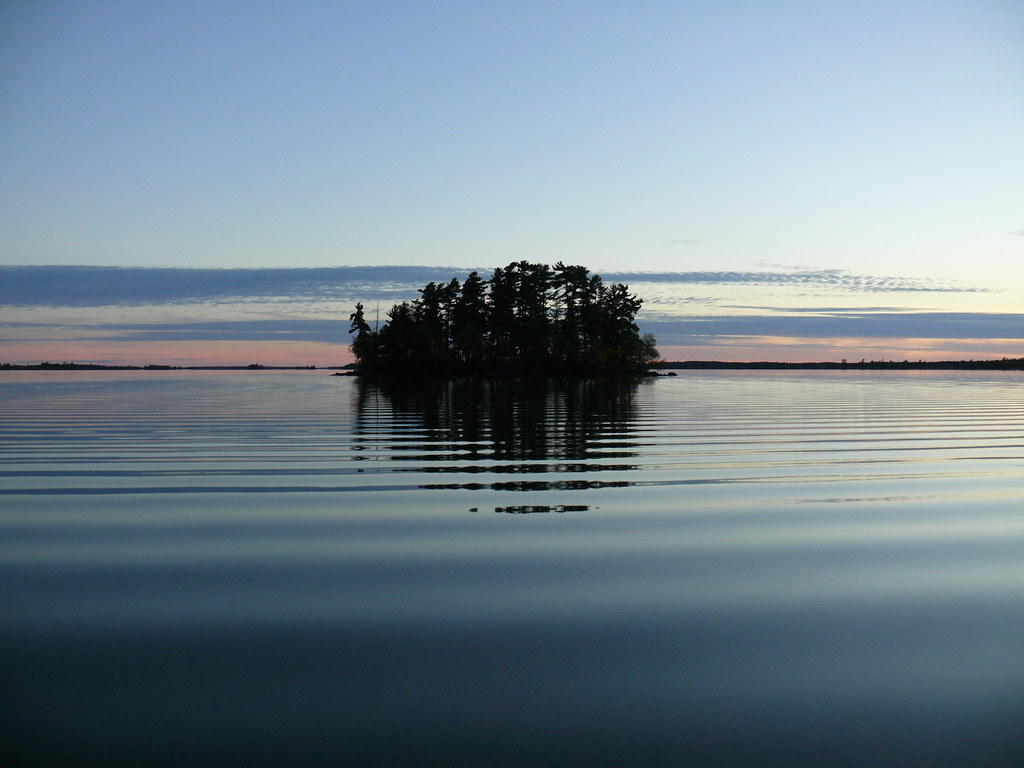 Smooth Blue Island