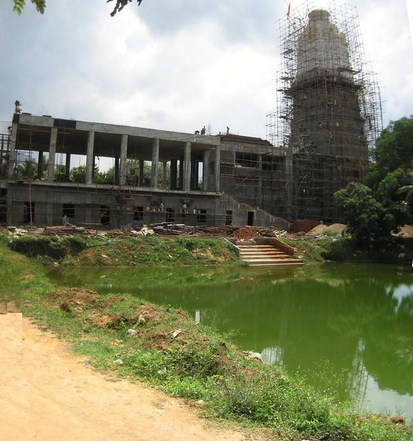 Upcoming Pandurangan temple 1