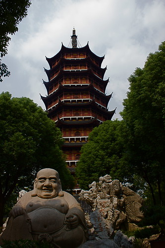 North Pagoda and Friend, Suzhou | by kahumphrey