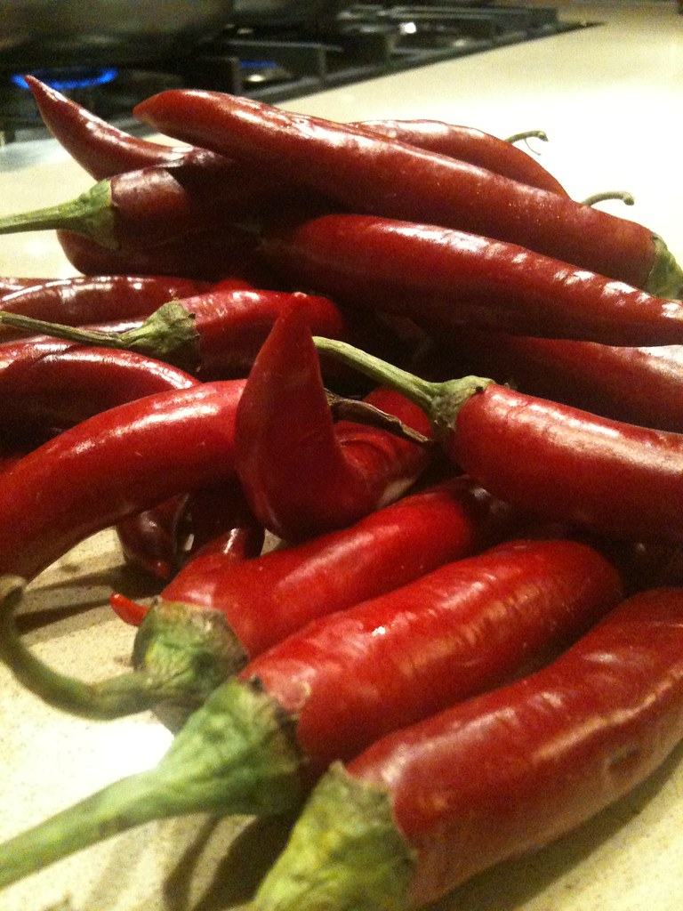 Need to home dry a bunch of chili peppers. Any suggestion on how to do this with the (microwave) oven?