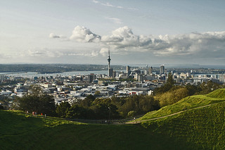 Auckland City, NZ from Mt Eden Summit | by Photos_by_Angela