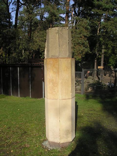 1904 Berlin Bär nicht auf der Kugel von August Gaul Bronze Haus Umwelt und Natur Straße zum FEZ in 12459 Wuhlheide