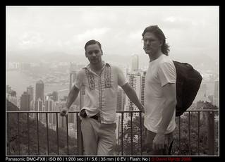 Hong Kong Island - David & Oskar
