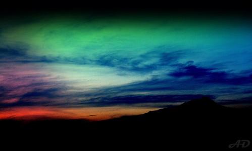 sunset sky mountains nature colors atardecer cielo canonrebel chakra montañas