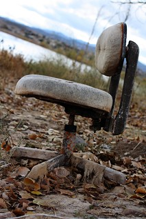 lonely lake/office chair, prescott, AZ