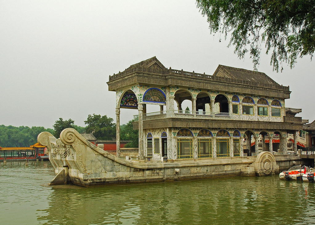 Summer Palace Beijing Marble Boat