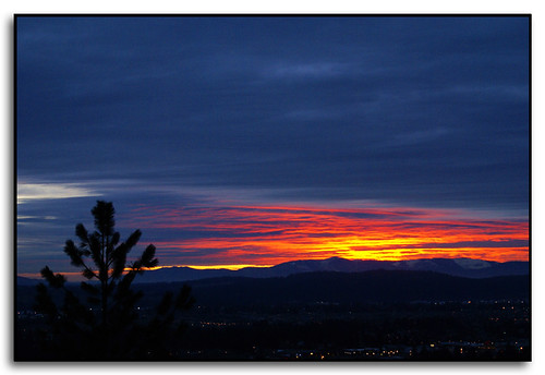 mountains colors clouds sunrise washington spokane fivemileprairie