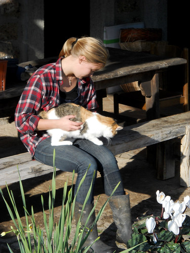Stina's official WWOOF charge | by comprock