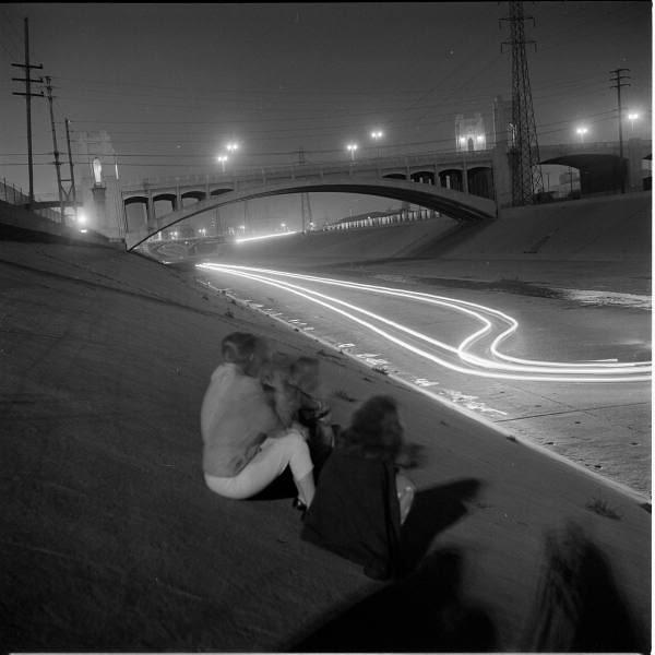 L.A. River drag racing 1950s