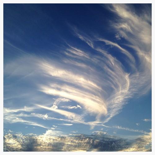 sunset sky clouds austin texas tx atx