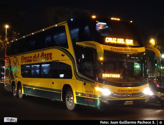► Marcopolo Paradiso G7 1800DD | Volvo B420R | Cruz del Sur.-