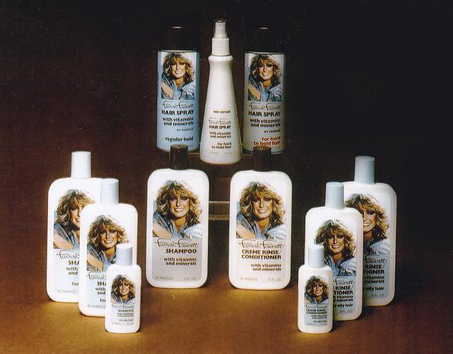 Faberge 1978 Farrah Fawcett Hair Care Line