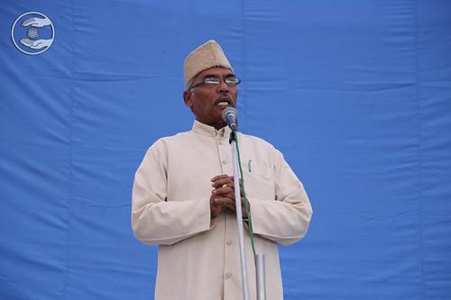 SNM Zonal Incharge Raj Kapoor from Jaspur, Uttarakhand