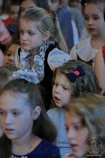 Рождественский концерт в школе 240