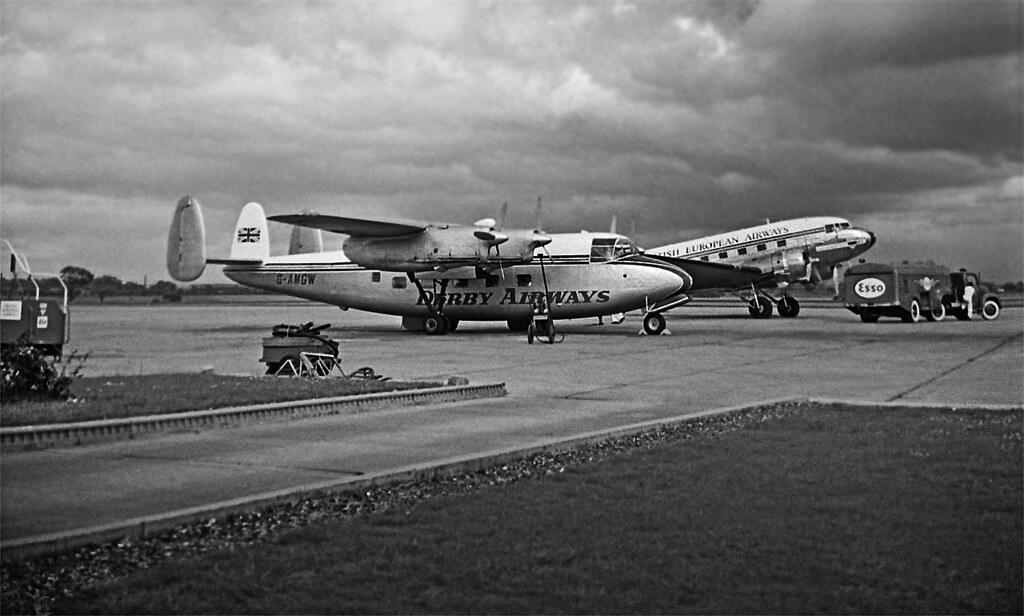 RENFREW AIRPORT APRON 1960