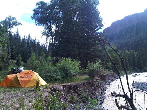 R1200GSA camping in CO | by Runcer