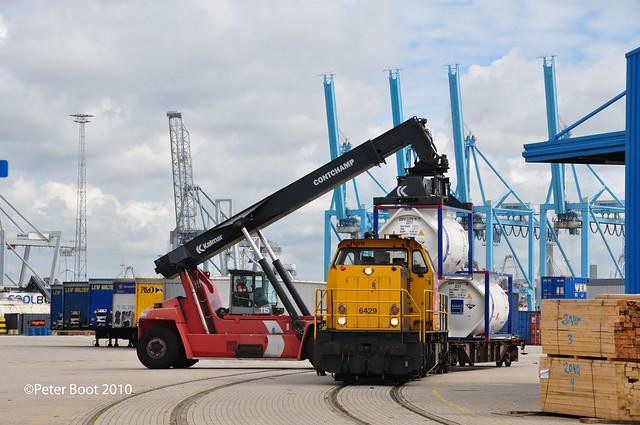 Railion 6429 Maasvlakte Rotterdam (IV)