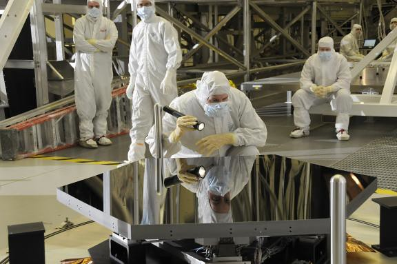 James Webb Mirror Segments (NASA, Marshall Center)