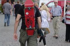 spare skateboard