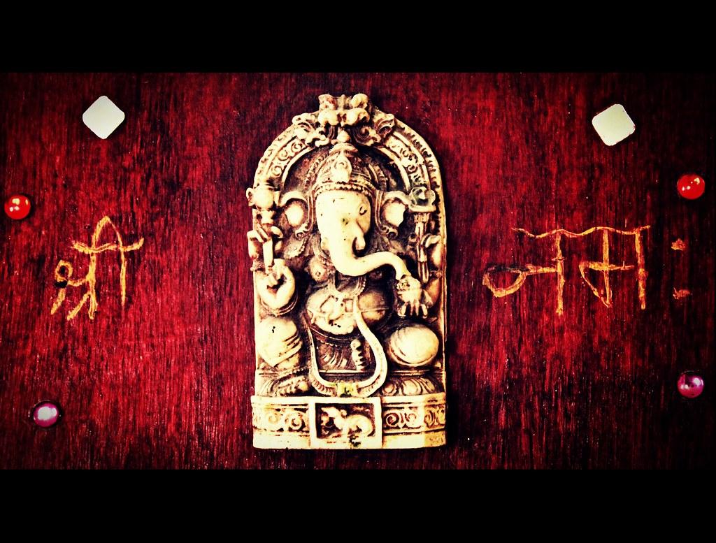ॐ श्री गणेशाय नमः (OM Sri Ganeshaya Namah)   A mantra