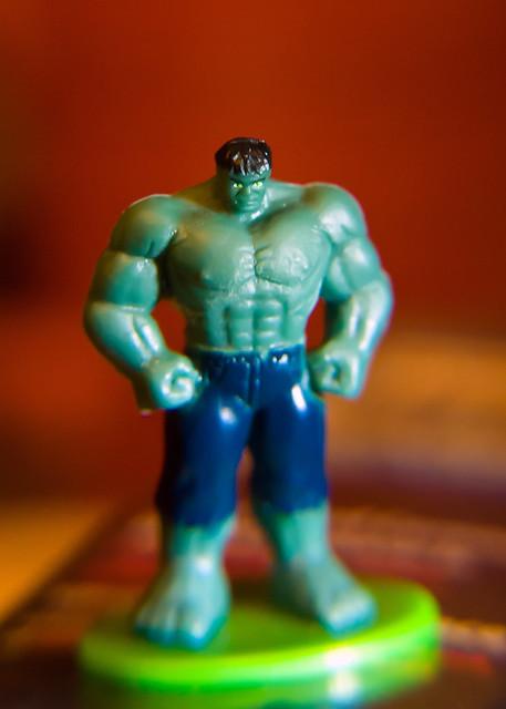 3.5cm hulk - little & angry