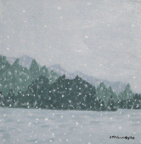 10 sNOWSTORM ON THE LAKE 1 | by joan mcgivney