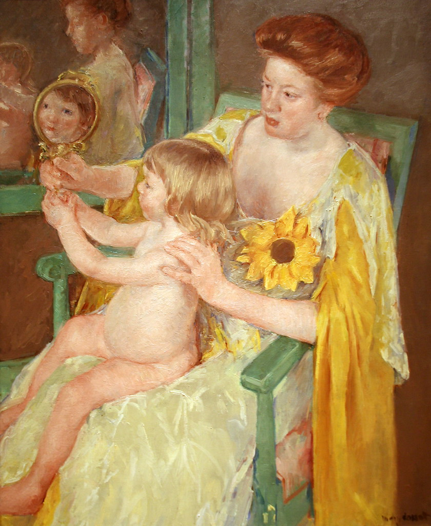 Mother and Child by Mary Cassatt | Mother and Child, c. 1905… | Flickr