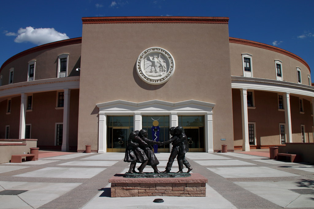 Image result for new mexico state capitol