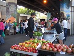 Baltimore Farmers Market under JFX