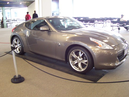 Nissan 370Z at Rotorua Airport, NZ | by n_willsey