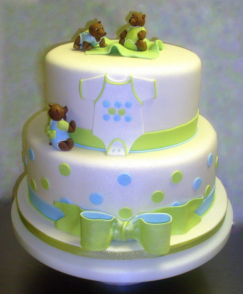 Boy Baby Shower Cake Design Based On The Invitation Cake Flickr