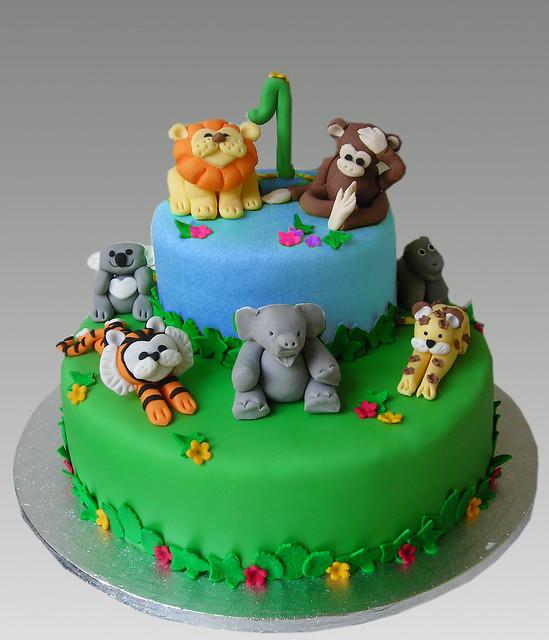 Jungleblue Cake