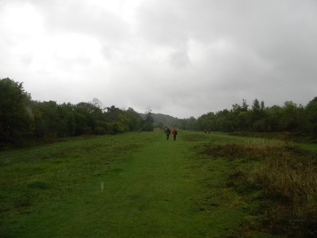 The Gallops A place, not an affliction. Thats the rest of the group overtaking me, by the way. Box Hill Circular