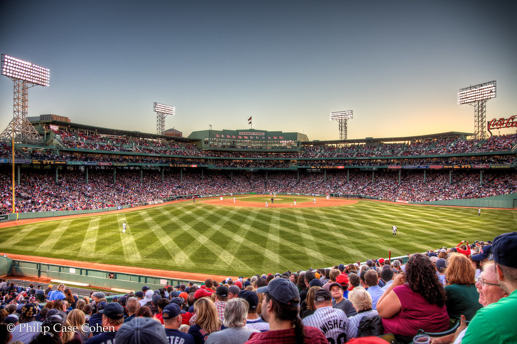 In The Bleachers | Fenway Park by Philip Case Cohen