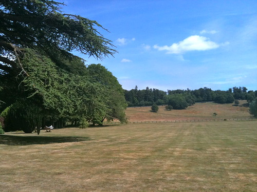 View across the lawns at Bibury Court Hotel | by Tip Tours