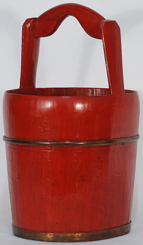 BK0262Y-Chinese-Antique-Water-Bucket | by Silk Road Collection