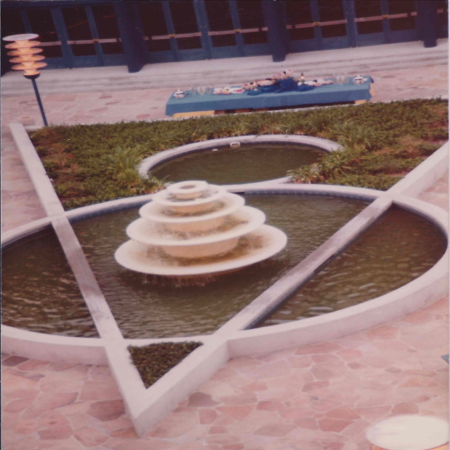 Courtyard Fountain 2_6-1980