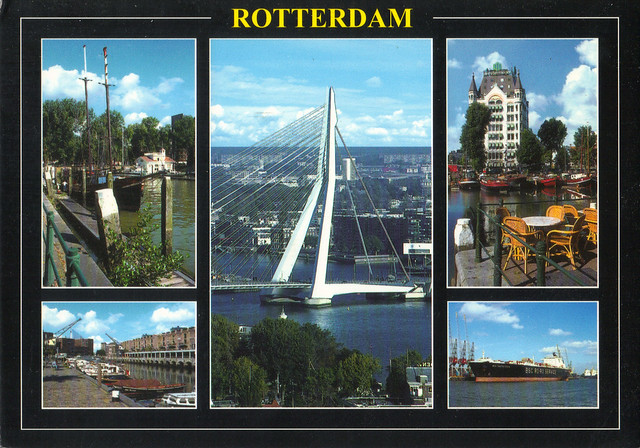 Rotterdam Multi-view Postcard