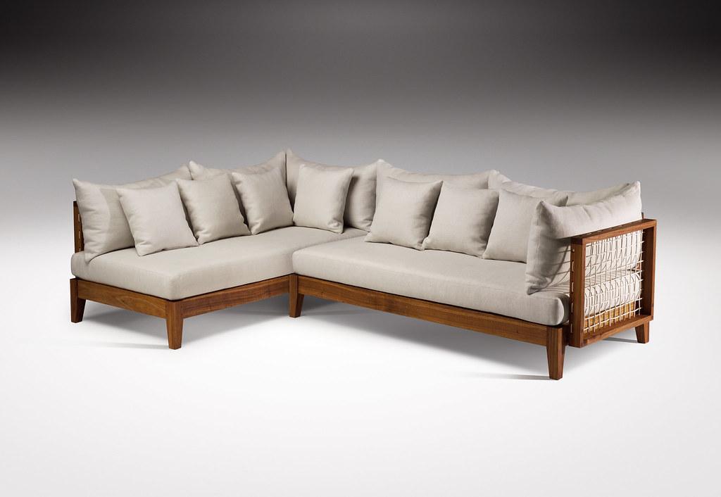 Riempie L Shape Couch, Designed by Haldane Martin, Photo Justin Patrick