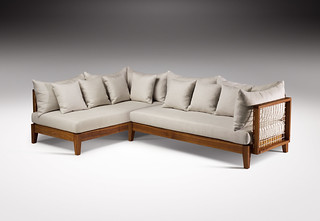 Riempie L Shape Couch, Designed by Haldane Martin, Photo Justin Patrick | by HALDANE MARTIN