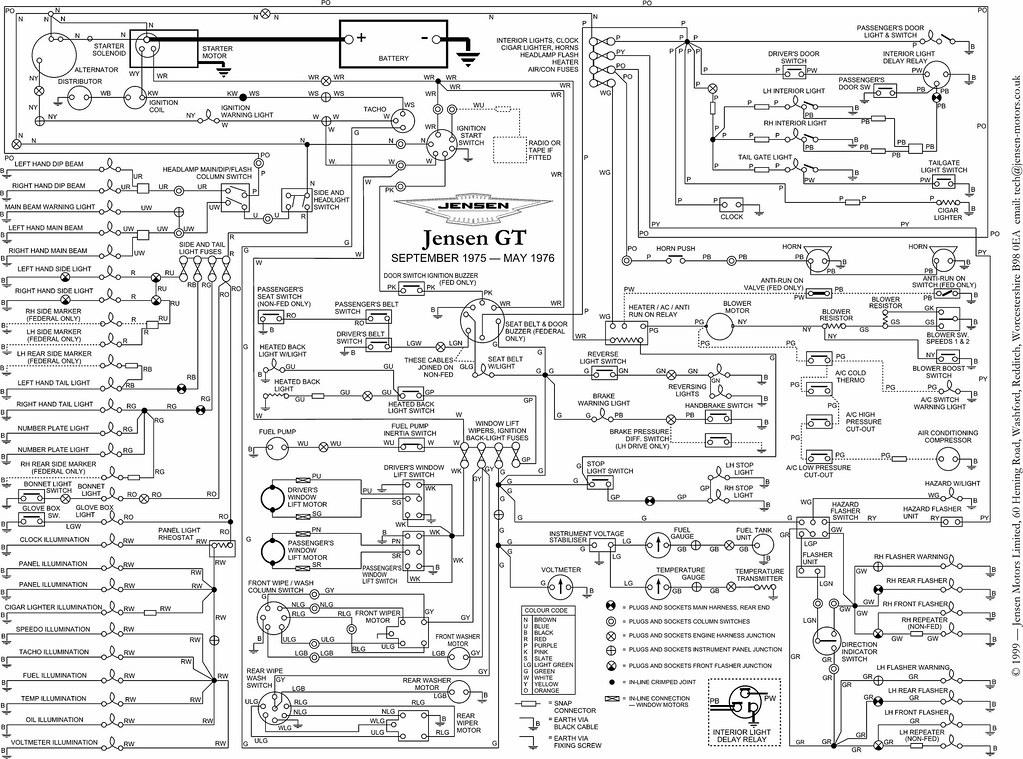 Jensen Wiring Diagram | Wiring Diagram on