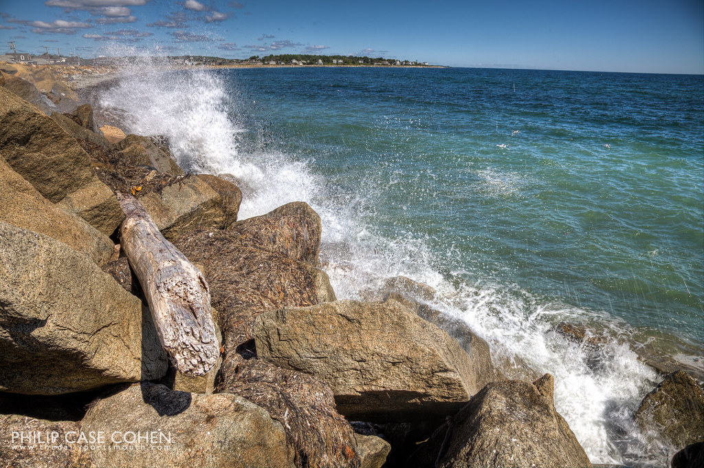 New Hampshire Coastline by Philip Case Cohen