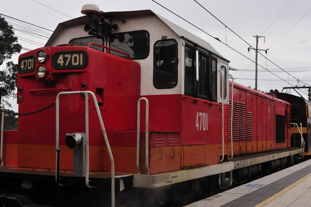 Diesel Locomotive 4701 by Tim Pruyn