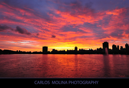 newyorkcity sunrise centralpark reservoir carlzeiss jacquelinekennedyonassis coth 21mmf28 nikond3 carlosmolina coth5 carlosmolinaphoto