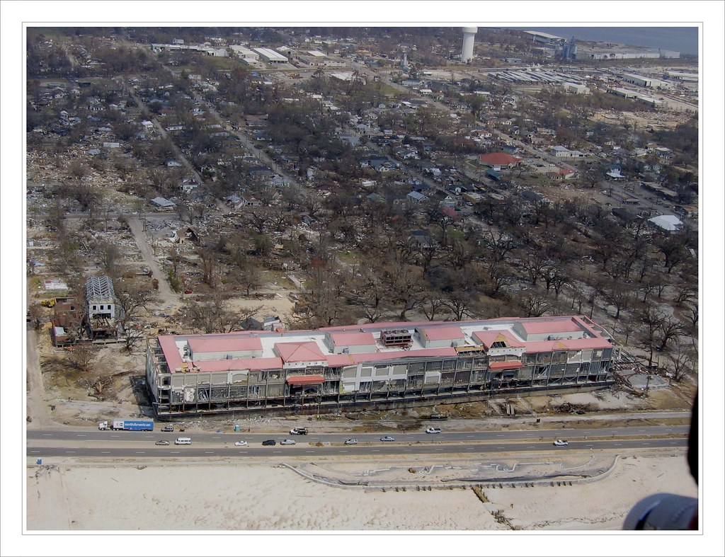 Grand Casino Biloxi Mississippi After Hurricane Katrina Flickr