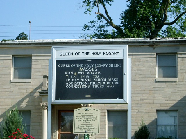 Queen of the Holy Rosary Shrine, La Salle, IL